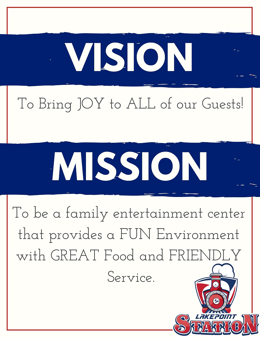LakePoint Station Mission Statement